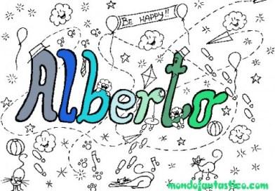 Nomi da colorare, Alberto significato carattere