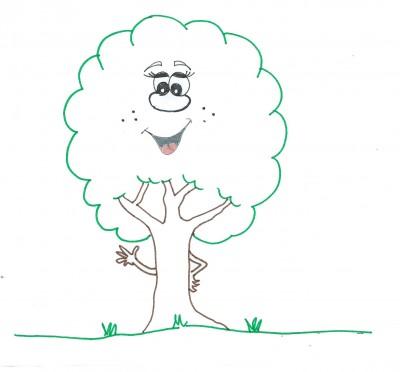 albero piante animato