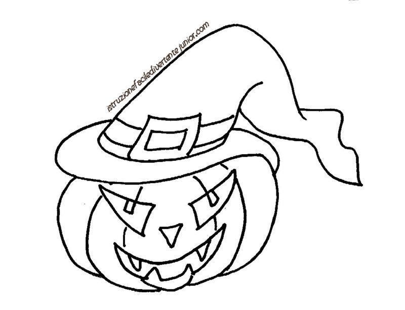 Giochi Di Halloween Da Colorare.Disegni Di Halloween Da Colorare Mondofantastico Com