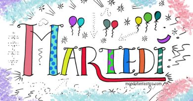 Giorni della settimana per bambini da colorare