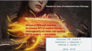 vaso di pandora della terapia per l'endometriosi