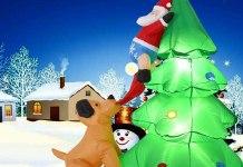 albero natalizio gonfiabile