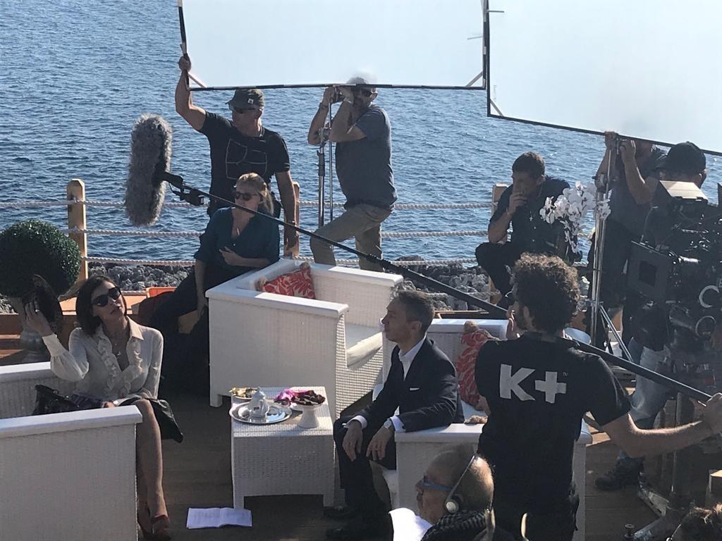 Gianluca Mech diventa attore? Eccolo sul set in Puglia (foto esclusiva)