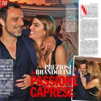 Alessandro Preziosi e Bianca Brandolini, in coppia a Capri
