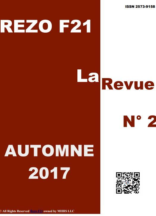 La Revue No 2 - Rezo 21 - AUTOMNE 2017
