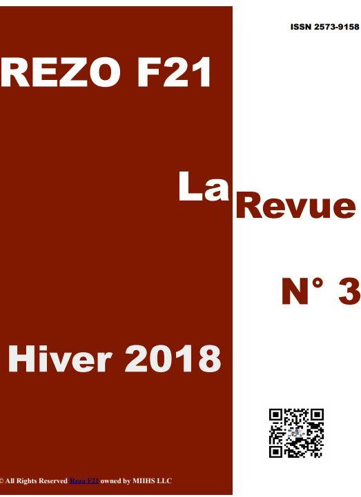 LaRevue 3 - Rezo 21 - HIVER 2018