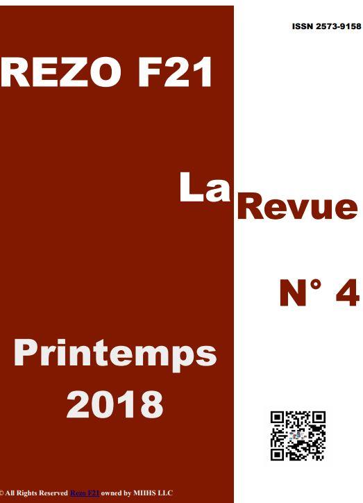 La Revue No 4 - Rezo 21 - Printemps 2018