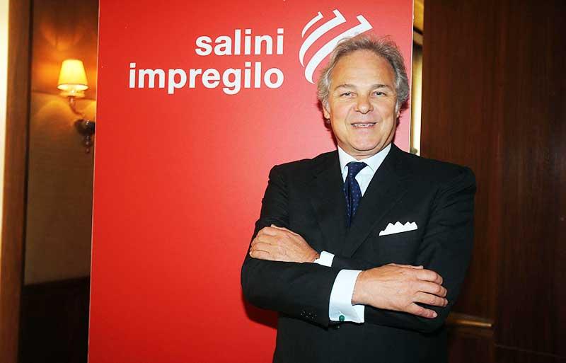 Pietro salini presidente salini impregilo for Ceo cosa significa