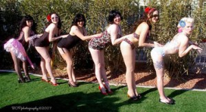 Pinups by the Pool