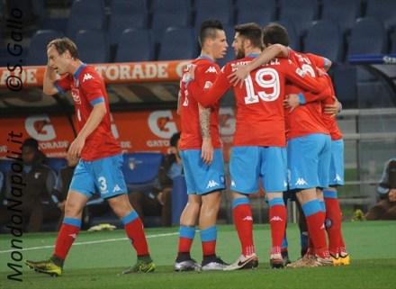 Callejon Napoli gol Lazio-Napoli