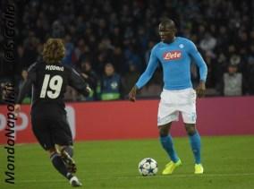 Napoli - Real Madrid koulibaly