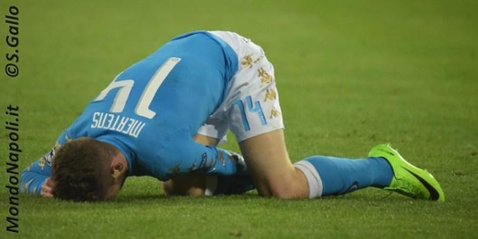 Napoli - Real Madrid mertens
