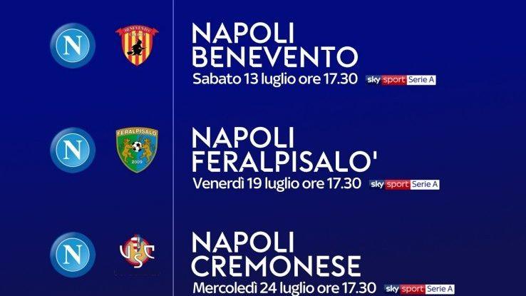 Calendario Amichevoli Napoli 2021 Napoli, ecco il calendario delle amichevoli