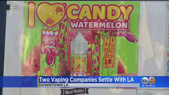 2 Vaping Companies Agree To Stop Marketing Products To Minors, Pay $175,000