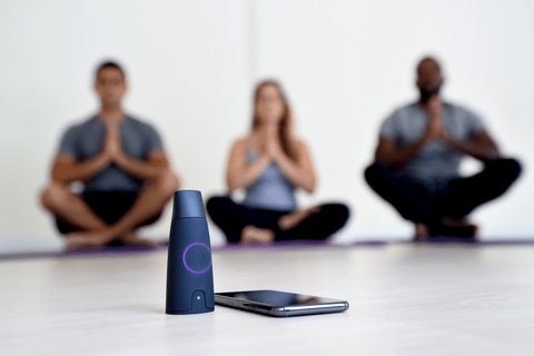 Lumen uses a CO2 sensor and flow meter to indicate the type of fuel your body is using to produce energy.