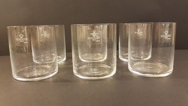 set 6 bicc cristallino