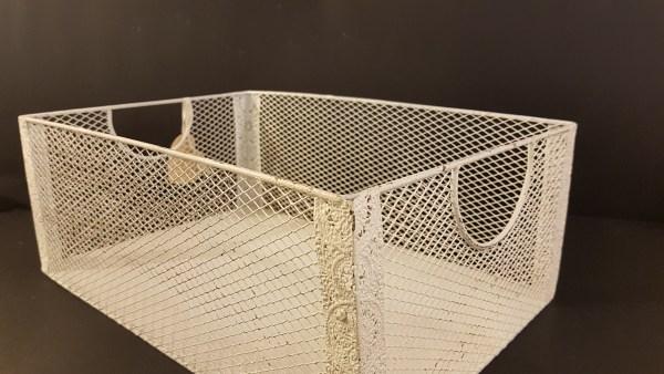 cassetta in ferro a rete