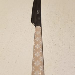 coltello tortora con margherita