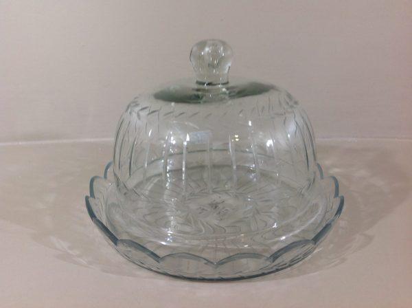 Preziosa Luxury Barattolo in vetro intagliato