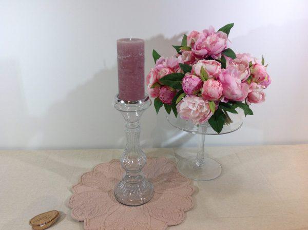 Preziosa Luxury Candeliere a stelo in vetro lavorato