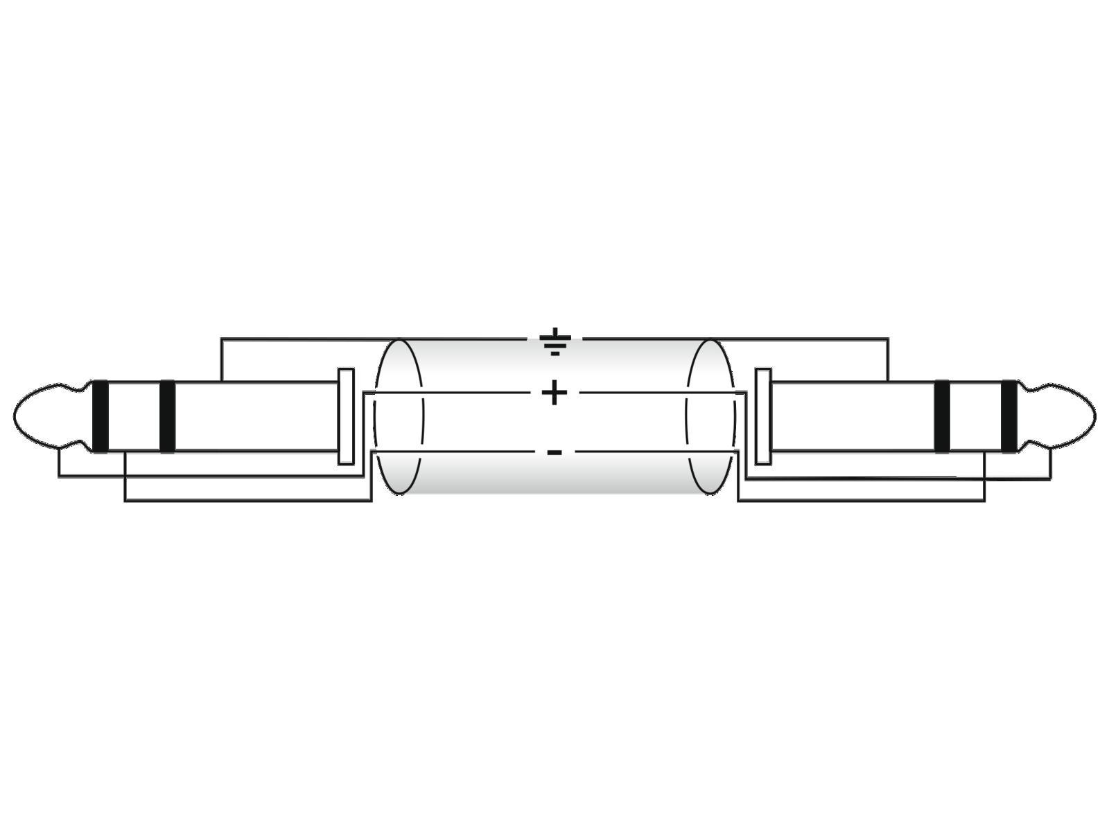 Omnitronic Jack Cable 3 5 Stereo 3m Bk Su Mondospettacoli