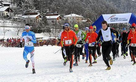Winter Triathlon Chialamberto nel segno di Daniel Antonioli e Roberta Gasparini