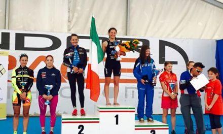 Al 24° Andora Triathlon Angelica Olmo fa sventolare il tricolore