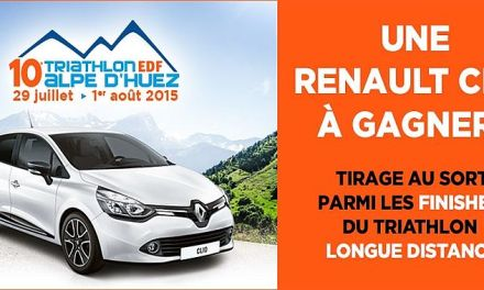 Super Tombola Renault all'Alpe d'Huez Triathlon!
