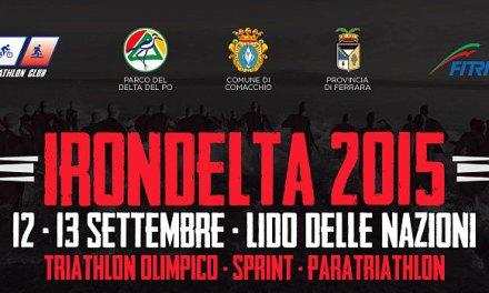 Le starting list di Irondelta Lido delle Nazioni