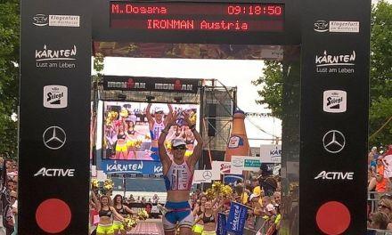Martina Dogana quinta all'Ironman Austria