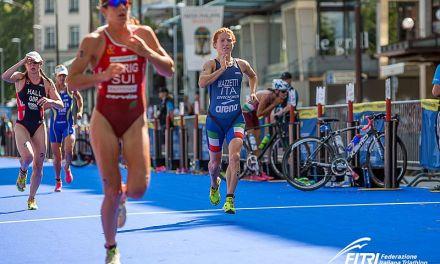 Anna Maria Mazzetti d'argento ai Campionati Europei triathlon!