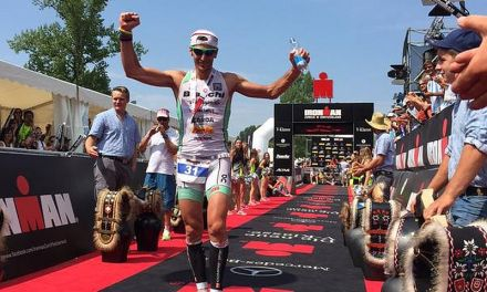 Alessandro Degasperi è terzo all'Ironman Switzerland!