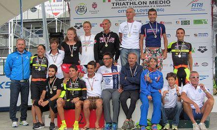 Tutti i protagonisti dei Campionati Italiani di Triathlon Medio a Lovere