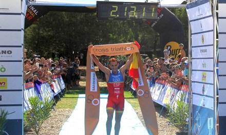 Flora Duffy e Ruben Ruzafa iridati al TNatura Sardegna cross triathlon