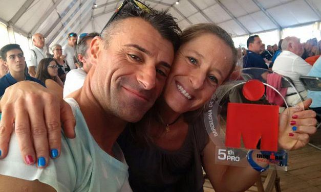 I 106 azzurri all'Ironman Barcelona, Martina Dogana 5^