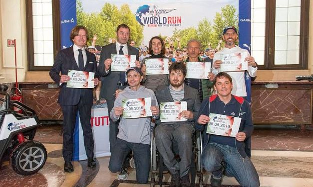 """Wings for life World Run 2016: """"Catch me if you can"""", a Milano!"""