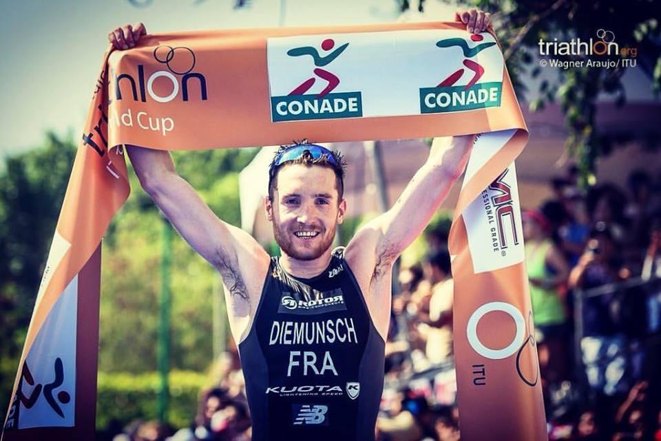 Nell'ITU World Cup Triathlon 2016 il successo va al francese Etienne Diemunsch