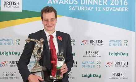 Alistair Browlee premiato ai British Triathlon Awards