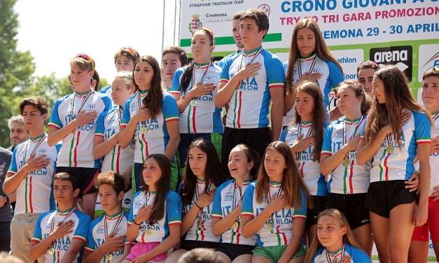 A Cremona lo spettacolo della Coppa Crono Giovani e del TrytoTRI