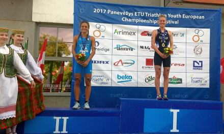 Bea Mallozzi è argento agli Europei di triathlon Youth!