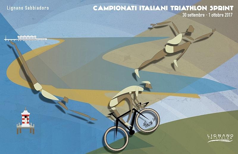 Tricolori Triathlon Lignano Sabbiadoro: programma, start list, info
