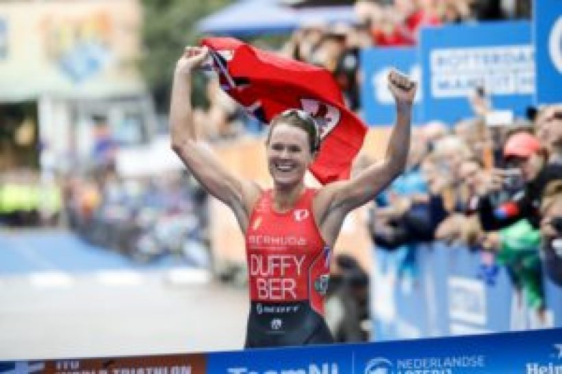 Flora Duffy domina l'ITU World Triathlon Grand Final Rotterdam e si laurea campionessa del mondo (Foto ©ITU Media / Wagner Araujo)