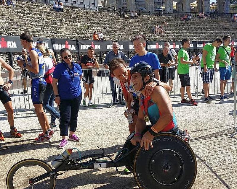 Alex Zanardi ci racconta il suo Ironman 70.3 Pula