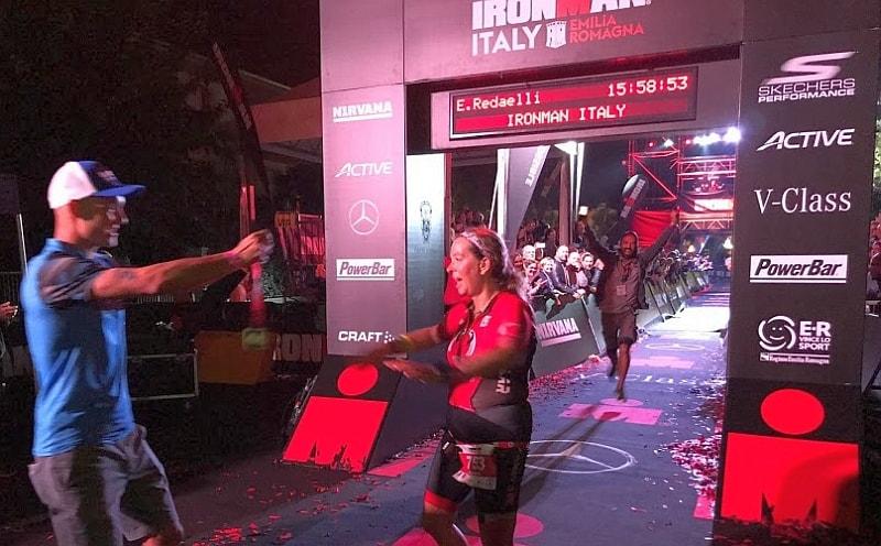 Emanuela 'coccina' Redaelli ce l'ha fatta e conquista il suo Ironman Italy Emilia Romagna 2017!
