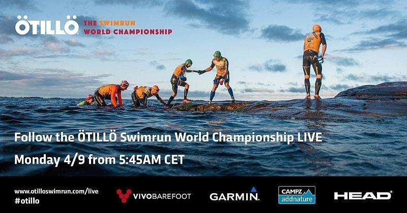 Dalle 13.00 il live del mitico ÖtillÖ Swimrun World Championship
