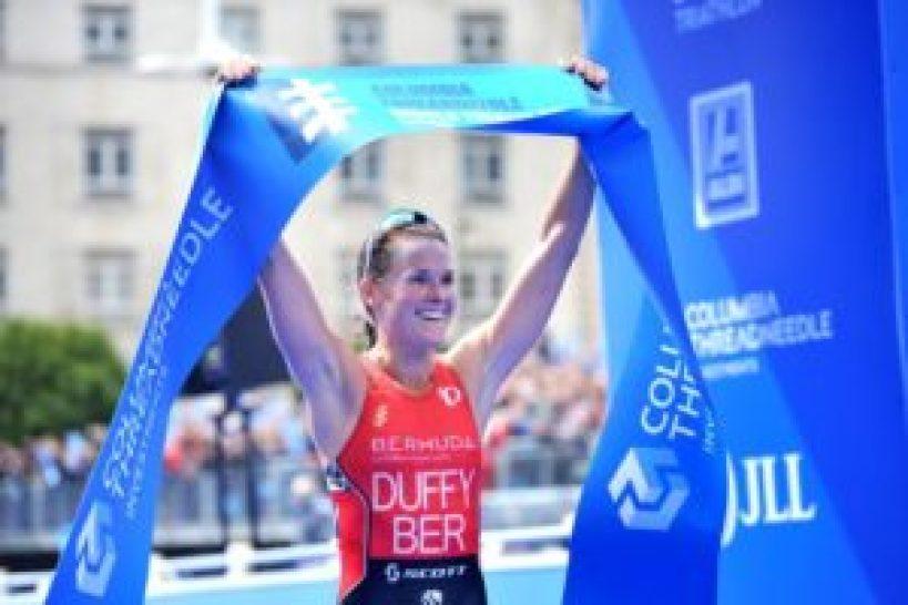 Flora Duffy è la superfavorita dell'ITU World Triathlon Series Grand Final 2017 a Rotterdam (Foto ©ITU Media / Janos Schmidt)