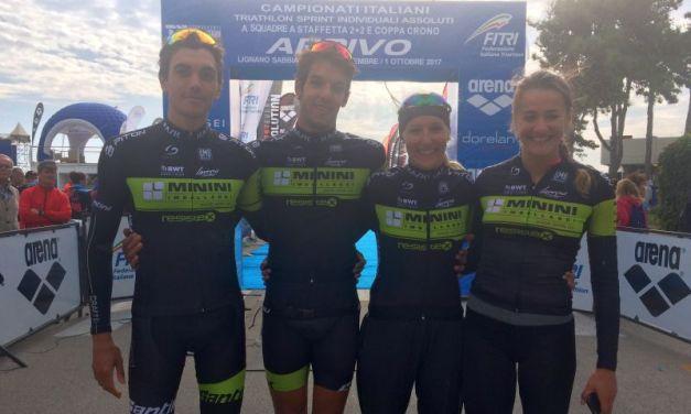 Italiani di triathlon a staffetta: la video intervista con Gianluca Pozzatti
