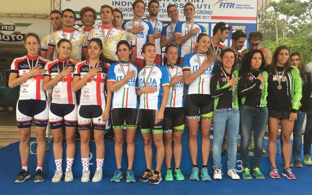 CUS Parma vince Coppa Crono maschile