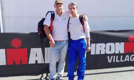 Alberto Ceriani, Stefano Sambati e l'Ironman Italy Emilia Romagna