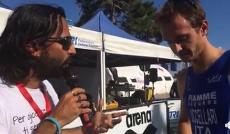 Italiani Triathlon Sprint: la video intervista con Davide Uccellari